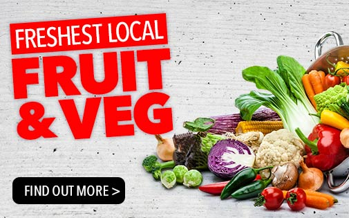 FRESHEST LOCAL FRUIT & VEG