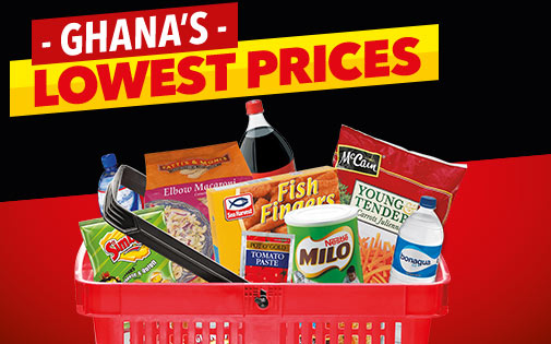 GHANA'S LOWEST PRICES