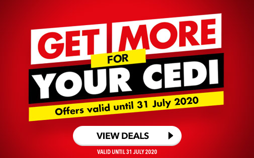 GET MORE FOR YOUR CEDI