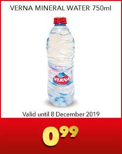 VERNA MINERAL WATER 750ml, 0,99