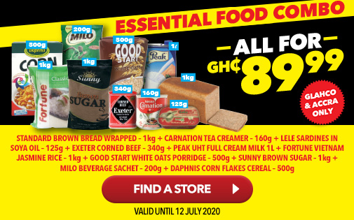 STOCK UP YOUR PANTRY AND SAVE WITH OUR ESSENTIALS HAMPER - EVERYTHING YOU NEED FOR JUST GH₵ 89.99!