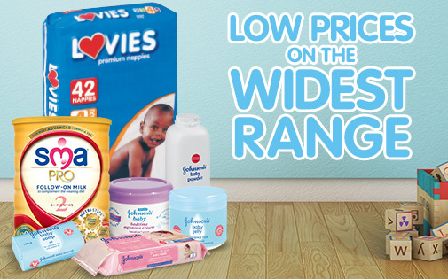 LOW PRICES ON THE WIDEST RANGE