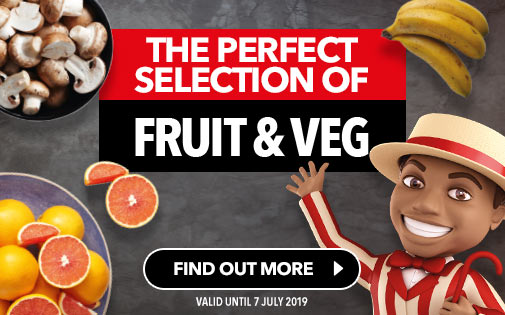 THE PERFECT SELECTION OF FRUIT & VEG